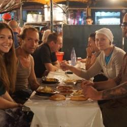 Abendessen am Jamaa El Fna