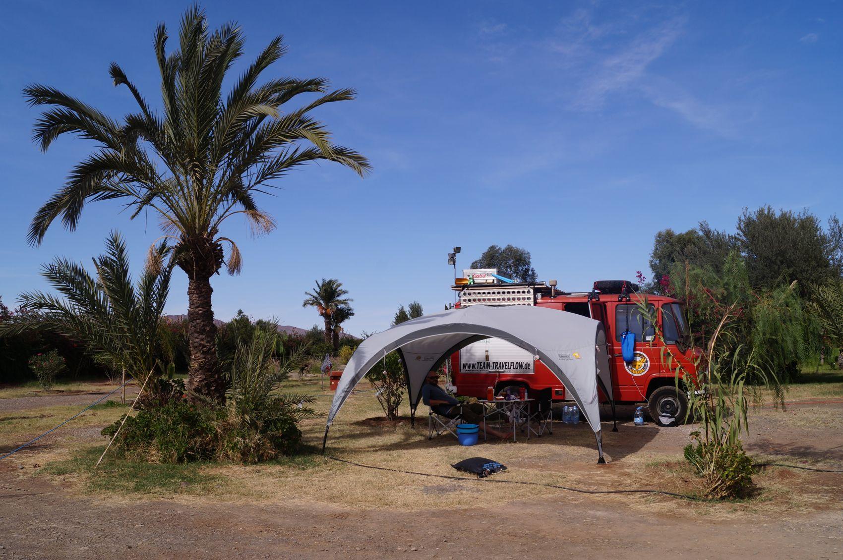 Lagerplatz Marrakech