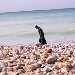 immer dem Meer entlang
