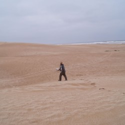 Sand am Qued Draa